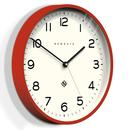 Echo Number Three NEWGATE CLOCKS Retro Clock Red