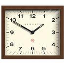 Newgate Clocks Mr Davies Retro Wooden Wall Clock