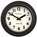 Newgate Clocks The Telelectric Wall Clock Black