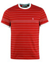 ORIGINAL PENGUIN Retro Engineered Stripe T-Shirt