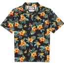 ORIGINAL PENGUIN 70's Tropical Floral Resort Shirt