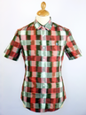 ORIGINAL PENGUIN BUFFALO CHECK RETRO MOD SHIRT