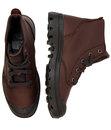 Pampa Hi VL PALLADIUM Retro Grain Leather Boots F