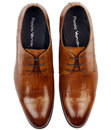 Padbury PAOLO VANDINI Mod Croc Stamp Dress Shoes T