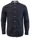 ORIGINAL PENGUIN Retro Grandad Collar Oxford Shirt