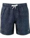 original penguin crosshatch swim shorts sapphire