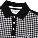 ORIGINAL PENGUIN Mod Gingham Check Jacquard Polo