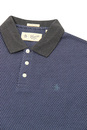 ORIGINAL PENGUIN Retro Mod Jacquard Front Polo DS