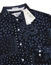 ORIGINAL PENGUIN Patchwork Paisley Floral Shirt