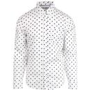 ORIGINAL PENGUIN Retro Records Polka Dot Shirt