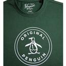ORIGINAL PENGUIN Retro 70s Stamp Logo T-shirt (S)