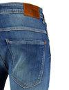 Nickel PEPE Retro 70s Indie Low Waist Skinny Jeans