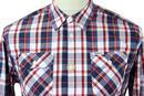 Gransasso PEPE JEANS Retro Mod Multi Check Shirt