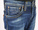 Kingston PEPE Retro Straight Leg Indie Denim Jeans