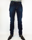 PEPE JEANS MENS CASH DENIM JEANS DARK BLUE MOD