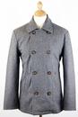 Kensington PEPE JEANS Retro Mod Melton Pea Coat