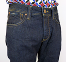 PEPE 'Heston' Mens Retro Indigo Denim Indie Jeans