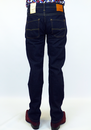 PEPE 'Heston' Mens Retro Indigo Denim Indie Jeans
