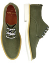 Pegg PETER WERTH Retro 60s Twill Derby Shoes