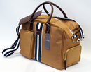 PETER WERTH CHARLES RETRO MOD HOLDALL WEEKEND BAG