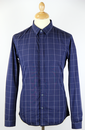Hemsworth PETER WERTH Mod Window Pane Check Shirt