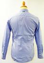 Raynor PETER WERTH Retro 60s Microdot Mod Shirt