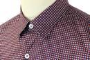 Yacinto PETER WERTH Op Art Button Under Shirt (NR)