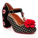 poetic licence heeled shoes adore me black