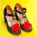 Adore Me POETIC LICENCE 60s Floral Block Heels (B)