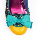 Mitzi IRREGULAR CHOICE Vintage Cherry Heels Yellow