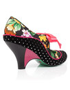 School's Out POETIC LICENCE Retro Floral Dot Heels
