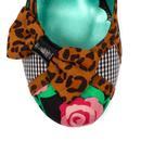 Shake It POETIC LICENCE Leopard Floral Heels B