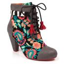 Poetic Licence Winter's Tale 60s Paisley Boots