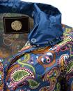 Ashworth PRETTY GREEN Retro Paisley Hooded Jacket