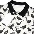 PRETTY GREEN x THE BEATLES Blackbird Mod Polo Top