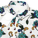 PRETTY GREEN X THE BEATLES Prudence Floral Shirt W