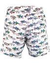 PRETTY GREEN x THE BEATLES 60s Fish Swim Shorts