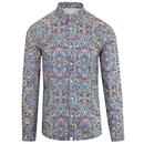 pretty green beatles moscow 60s mod paisley shirt