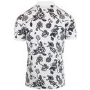 PRETTY GREEN X THE BEATLES Prudence Floral Polo G