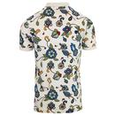 PRETTY GREEN X THE BEATLES Prudence Floral Polo