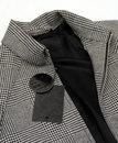 Birley POW PRETTY GREEN 60s Mod Wool Blend Jacket