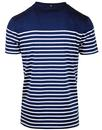 PRETTY GREEN 60s Retro Bretton Stripe Tee