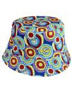 pretty green beatles bucket hat mod indie blue