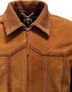 Denescroft PRETTY GREEN Retro 70s Mod Suede Jacket