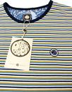 Feeder PRETTY GREEN Retro Mod Stripe Tee