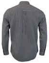 Francis PRETTY GREEN Mod Button Down Gingham Shirt