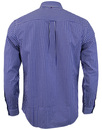 Francis PRETTY GREEN Retro Mod Gingham Check Shirt