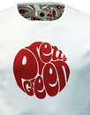 Gillespie PRETTY GREEN Retro Mod Logo Tee (White)