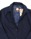Glendon PRETTY GREEN Mod Button Up Mac Jacket (N)