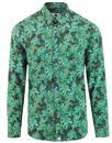pretty green x katie eary toria mod paisley shirt
